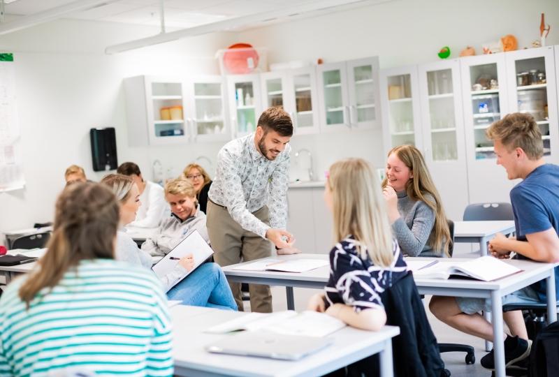 Foto av undervisningssituasjon