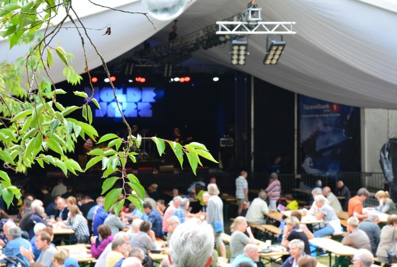 Konsert i Aleksandraparken under Moldejazz