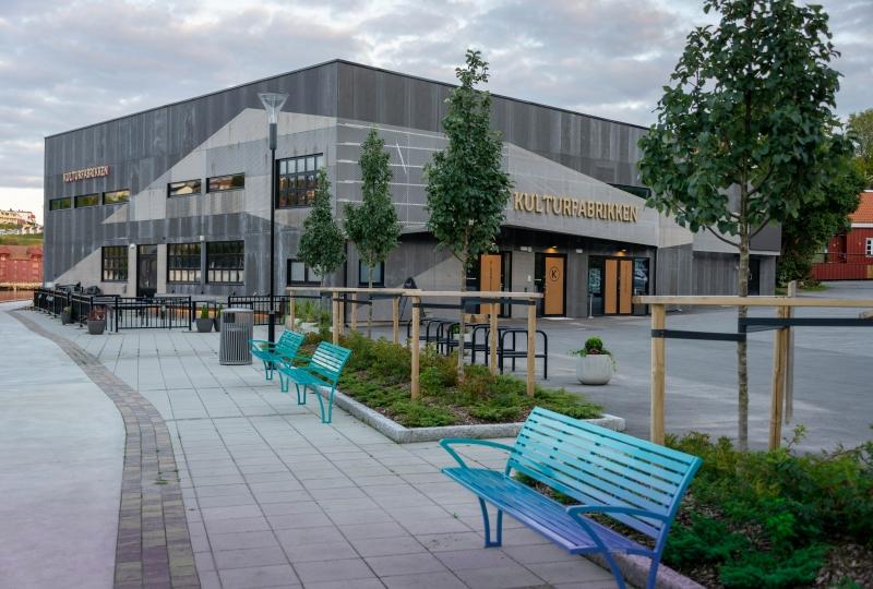 Bilde av Kulturfabrikken i Kristiansund.