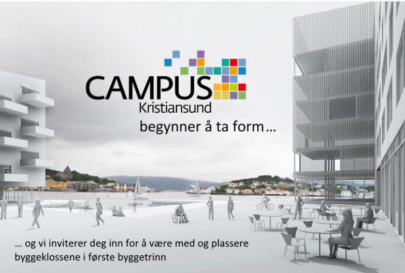 Bilde av skisse for campus Kristiansund