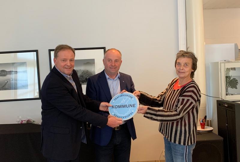 Sykkylven får godkjenning som trafikksikker kommune.