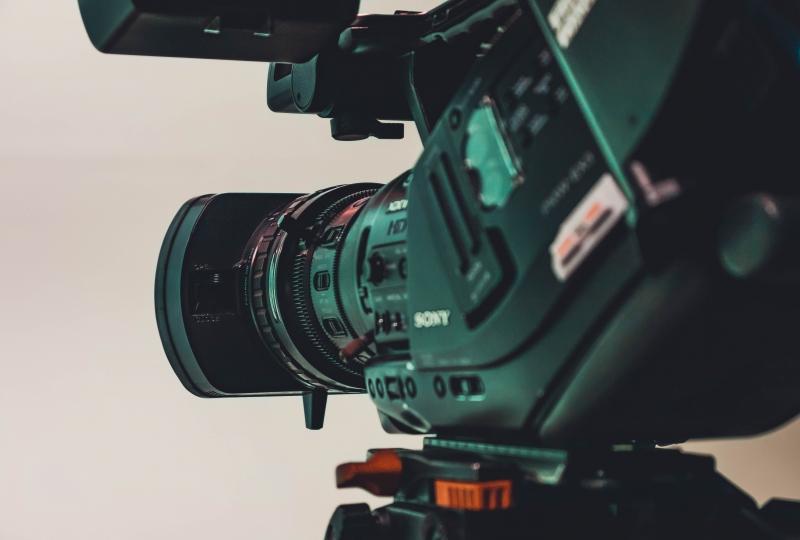 Filmkamera utsnitt