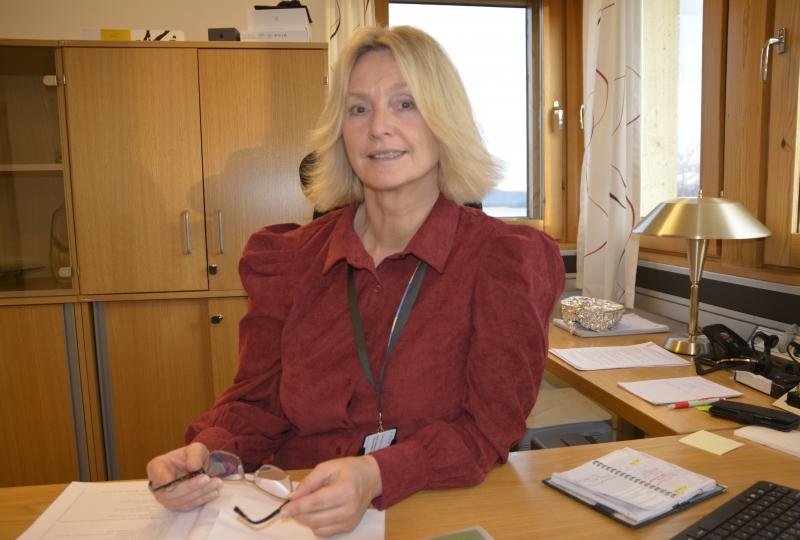 Bilde av fylkesordførar Tove-Lise Torve