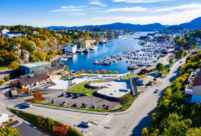Bilde av Vågen i Kristiansund.