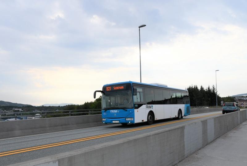 Buss i Kristiansund
